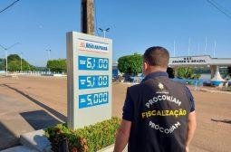 Procon-AM notifica postos de combustíveis em Novo Aripuanã